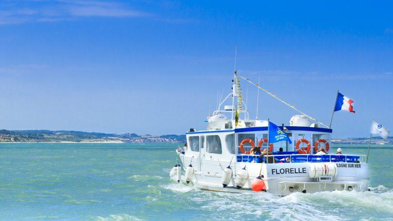 Sur La Florelle, découvrez la rade du port de Boulogne sur mer, la Pointe aux Oies, le Cap Blanc Nez et le Cap Gris Nez