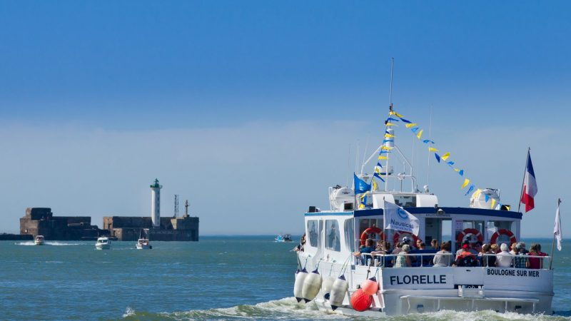 La Florelle dans la rade du Port de Boulogne sur mer